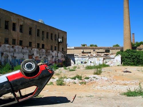 Free stock photo of abandoned, barcelona, brick