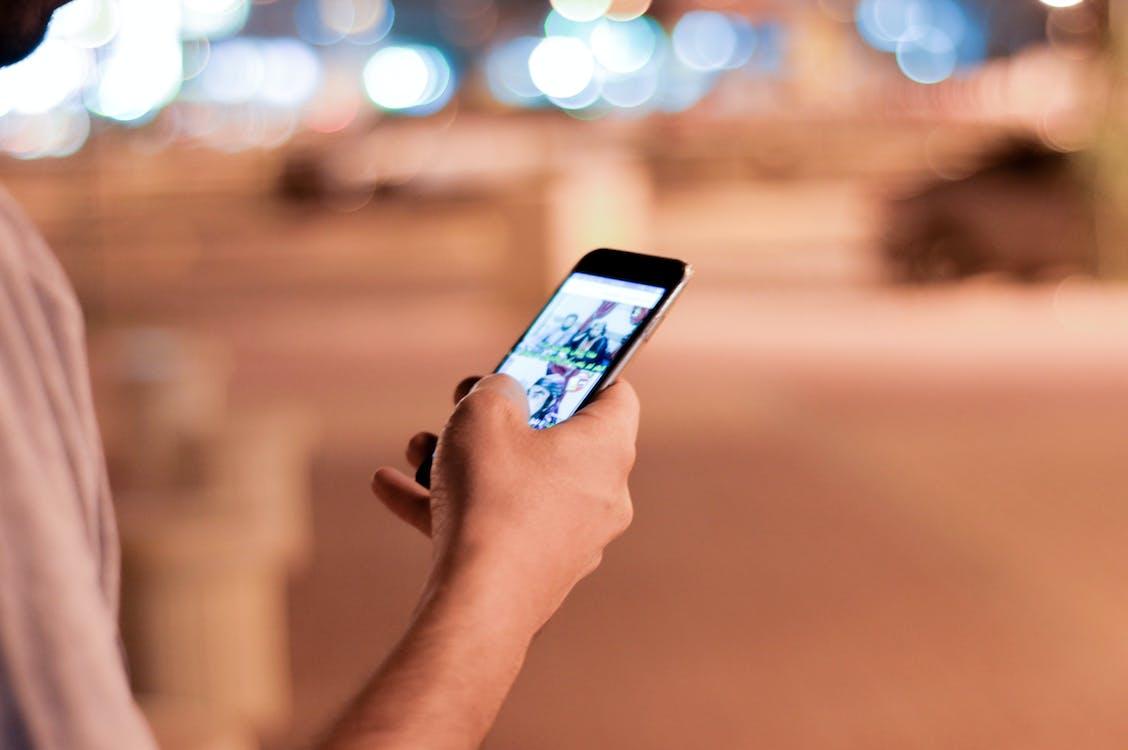 chytrý telefon, dotyk, dotyková obrazovka