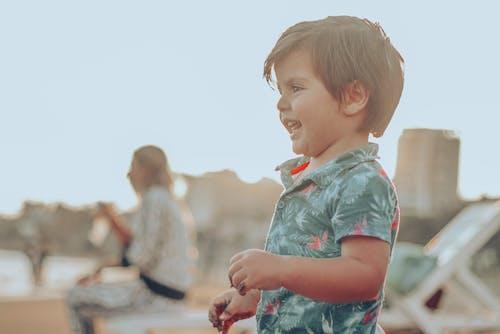 Free stock photo of beach, boy, child