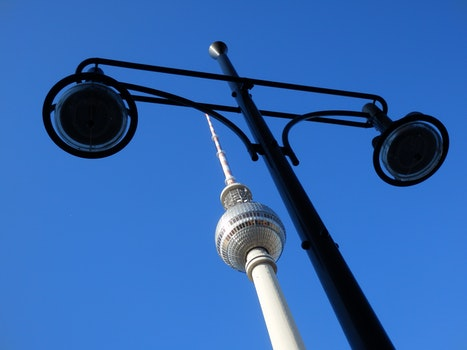 TV Tower on low Angle Photography