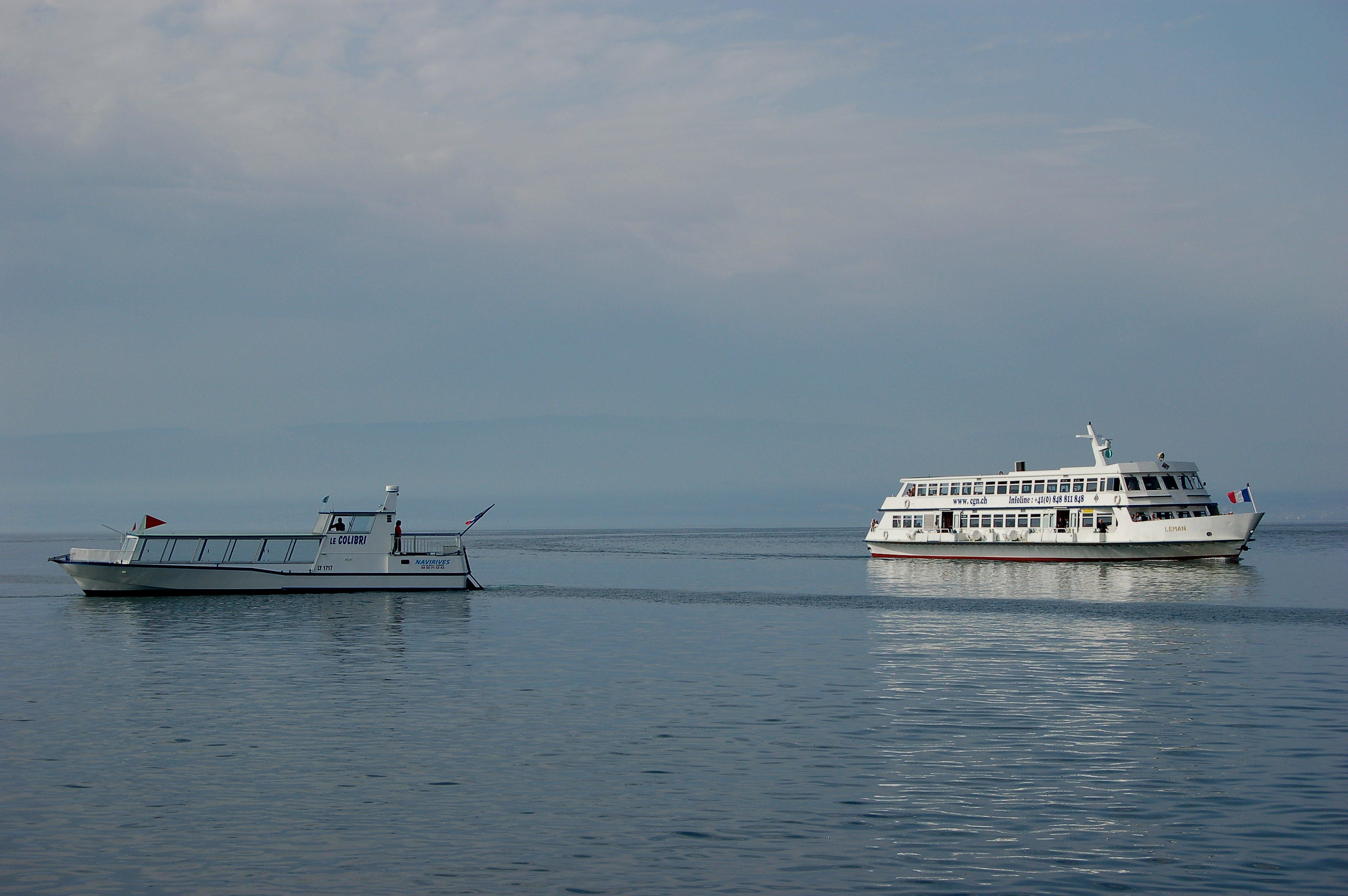 Základová fotografie zdarma na téma člun, trajekt, vidět
