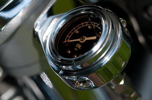 Immagine gratuita di acciaio inox, calibro, indicatore della temperatura dell'olio, metro
