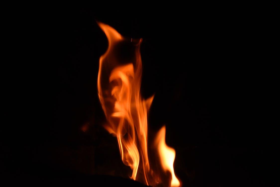 attraente, bruciare, caldo