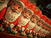santa claus, sweets, christmas decoration