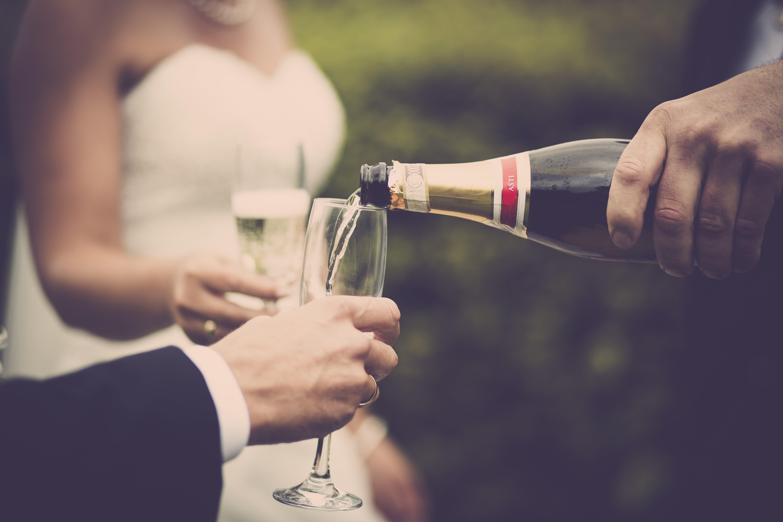 おとこ, お祝い, アルコール飲料