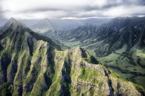 Foto d'estoc gratuïta de cel, muntanyes, natura, núvols