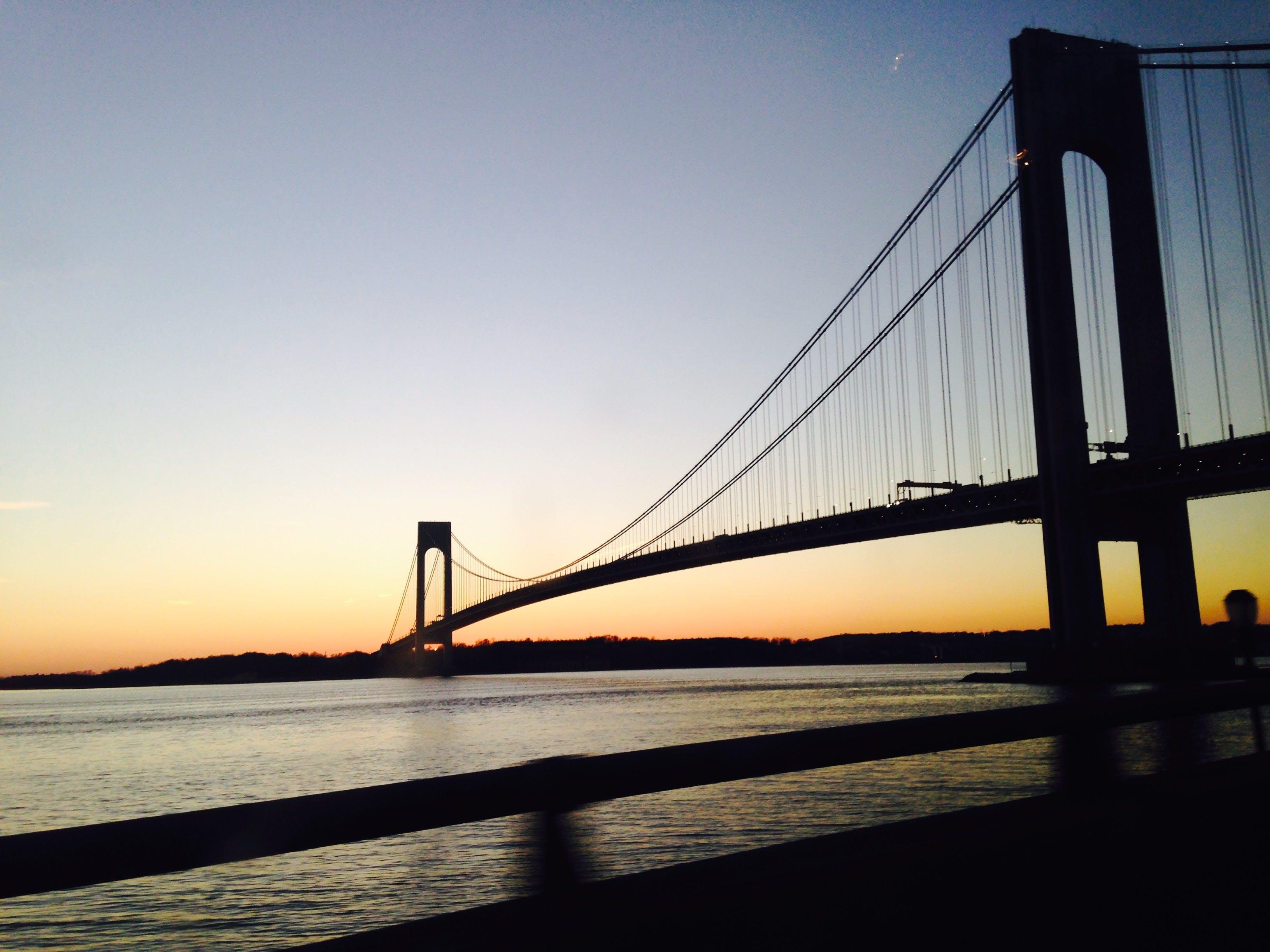 Free stock photo of bridge, brooklyn, dusk, journey