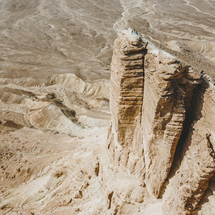 Free stock photo of aerial footage, aerial photography, desert