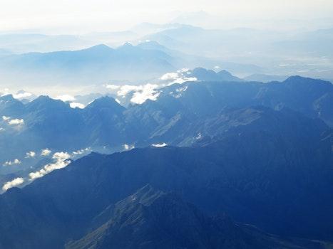Kostenloses Stock Foto zu landschaft, berge, natur, wolken