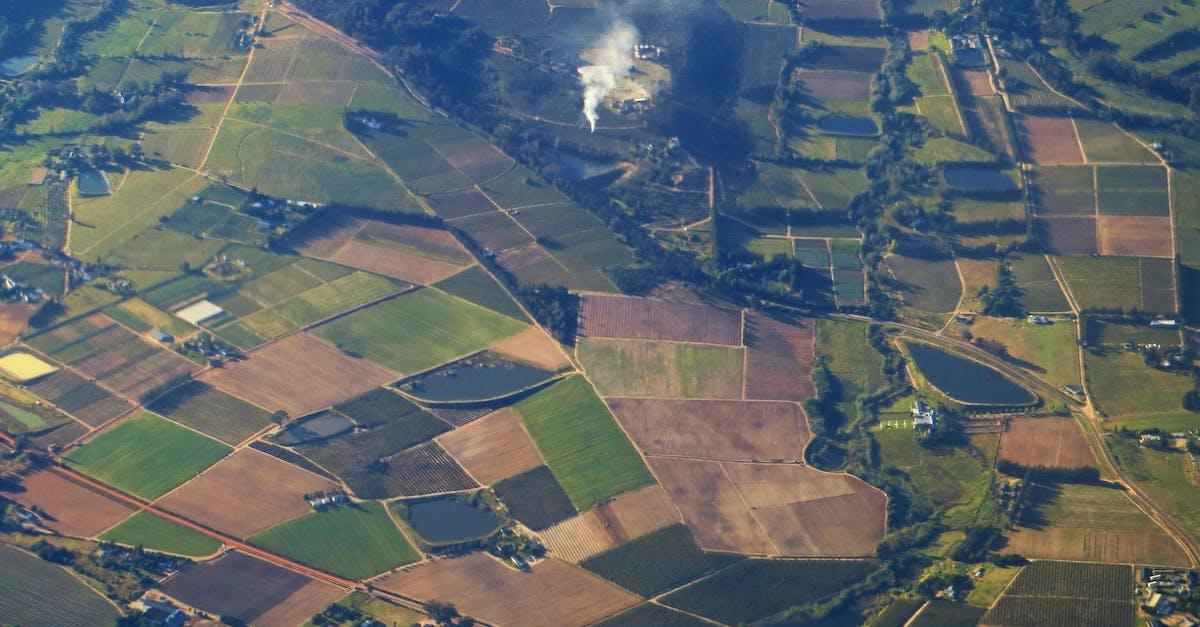 Bird S Eye View Of Farmland 183 Free Stock Photo