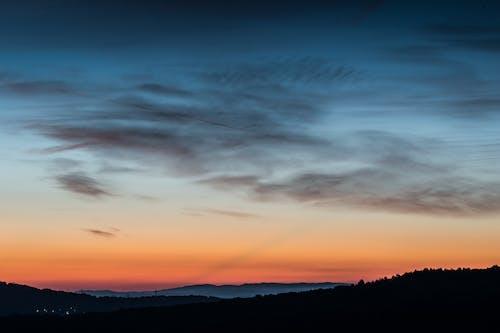 Darmowe zdjęcie z galerii z natura, niebo, wschód słońca, zachód słońca