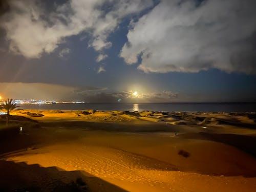 Ảnh lưu trữ miễn phí về bãi biển đêm, bờ biển