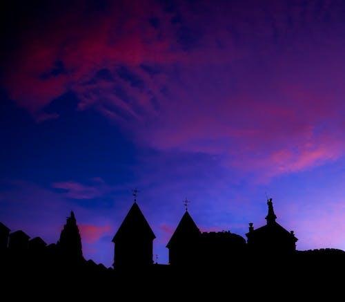 Foto profissional grátis de alvorecer, céu, escuro, nascer do sol