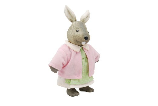 Rabbit Plush Toy With Pink Dress