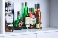 alcohol, bottles, drinks
