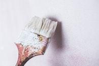 art, wall, brush