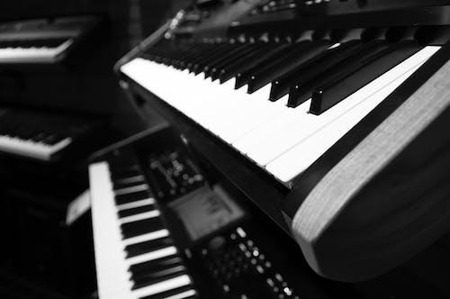 Free stock photo of black, keyboard, keys