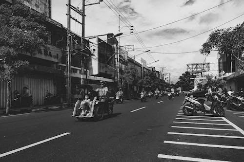 Free stock photo of becak, city, malang