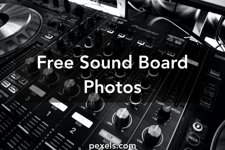 500+ Beautiful Sound Board Photos · Pexels · Free Stock Photos