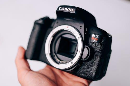 Black Canon Eos 7 D
