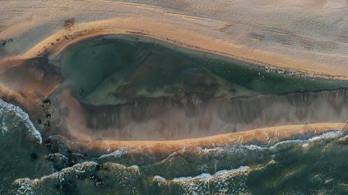Darmowe zdjęcie z galerii z basen, brązowy, dron