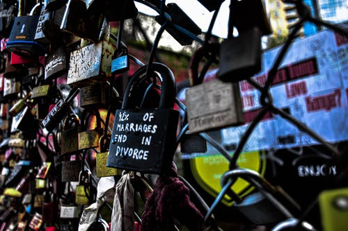 Free stock photo of divorce, lock, valla