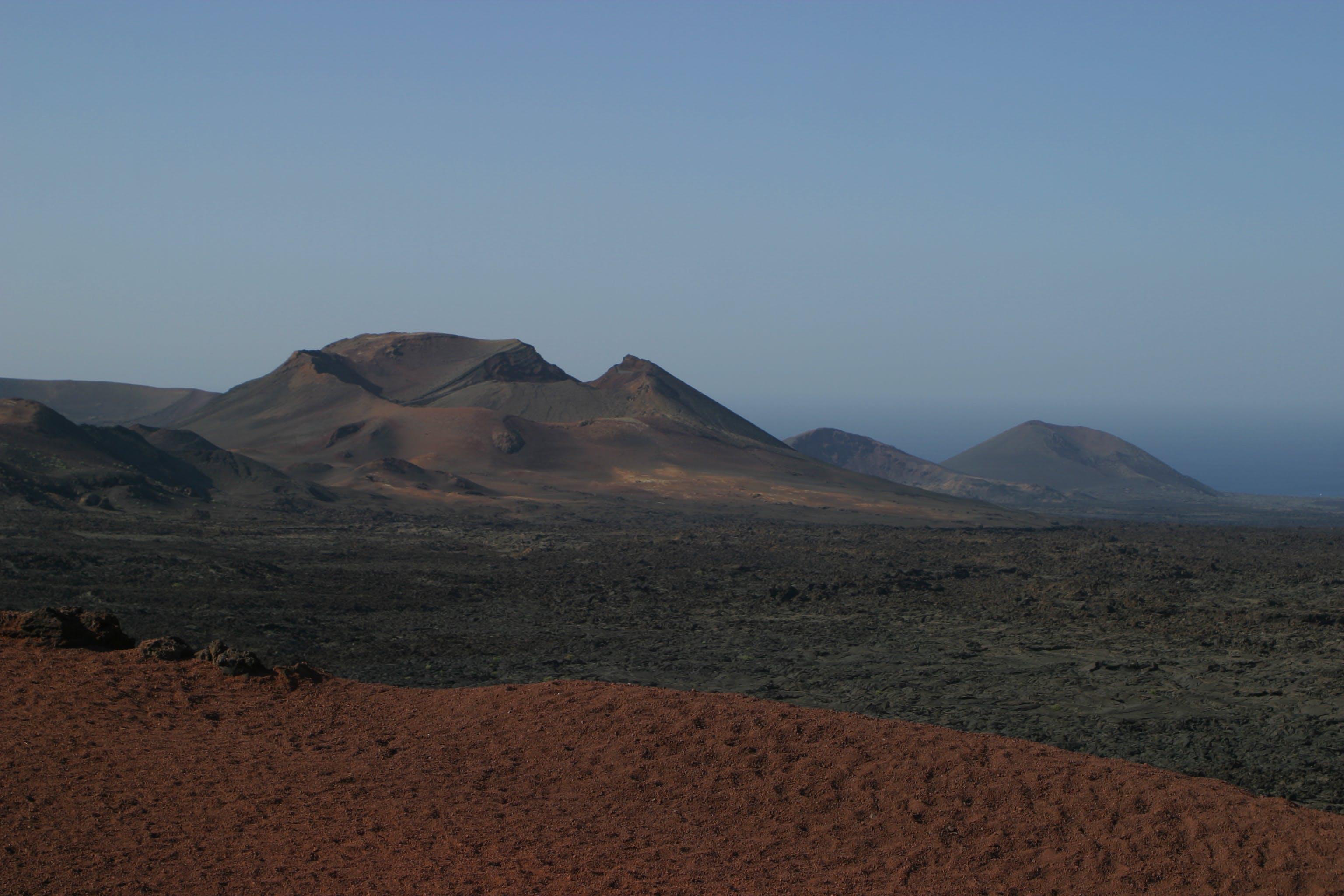 Kostenloses Stock Foto zu berg, dürr, geologie, himmel