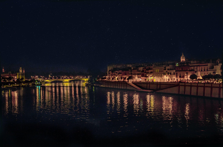 Free stock photo of light, night, sevilla, spain