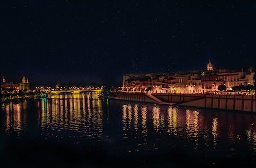 Free stock photo of light, night, sevilla