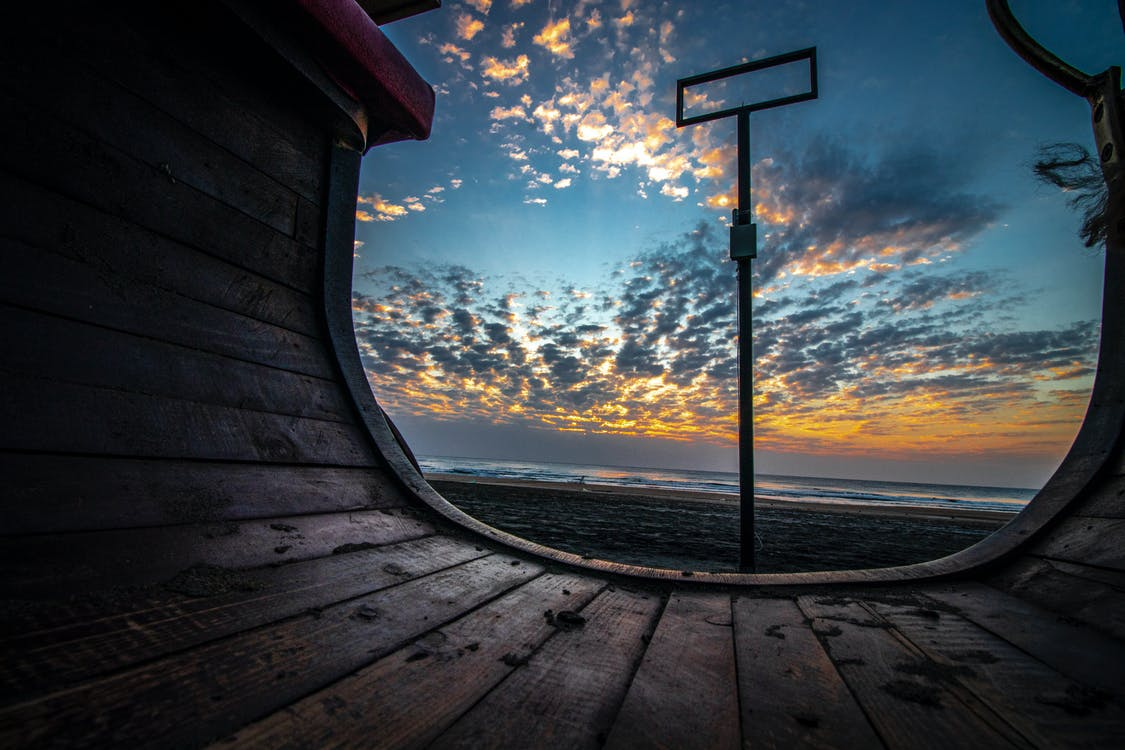 Free stock photo of above sea, beach, beach sunset