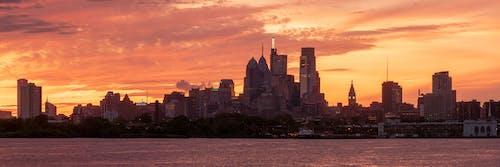 Free stock photo of city pano, city skyline, Philadelphia