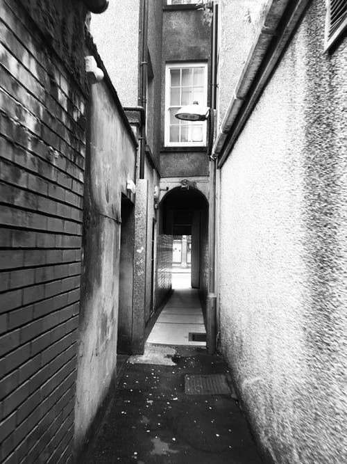 Free stock photo of alley, alleyway, brick wall