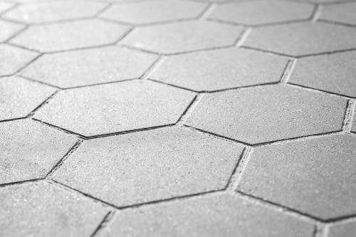 Fotobanka sbezplatnými fotkami na tému betón, chodník, geometrický, hexagon