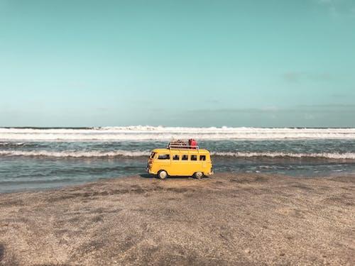 Photos gratuites de aube, blog de voyage, bord de mer