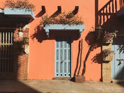 Photos gratuites de adobe, architecture, balcon