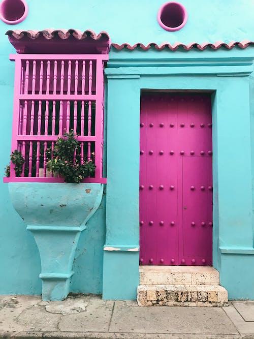 Photos gratuites de architecture, bâtiment, bleu