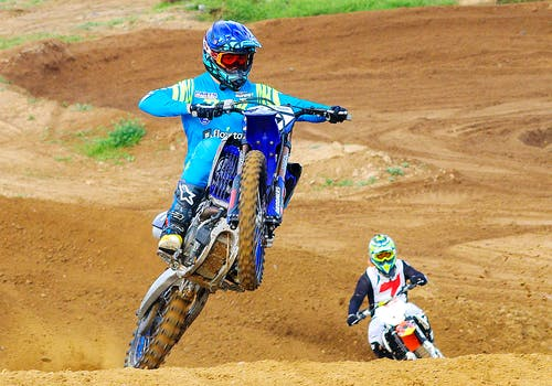Free stock photo of action, bike, championship
