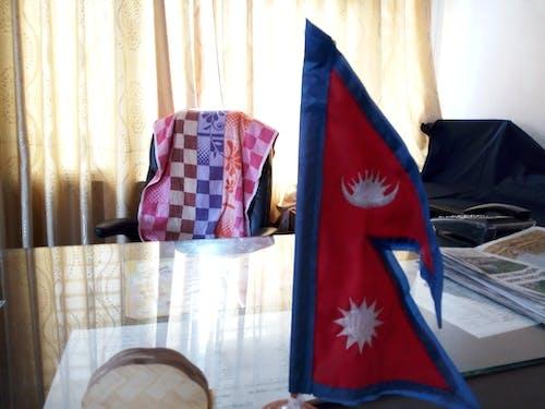 Free stock photo of nepal national flag, office block