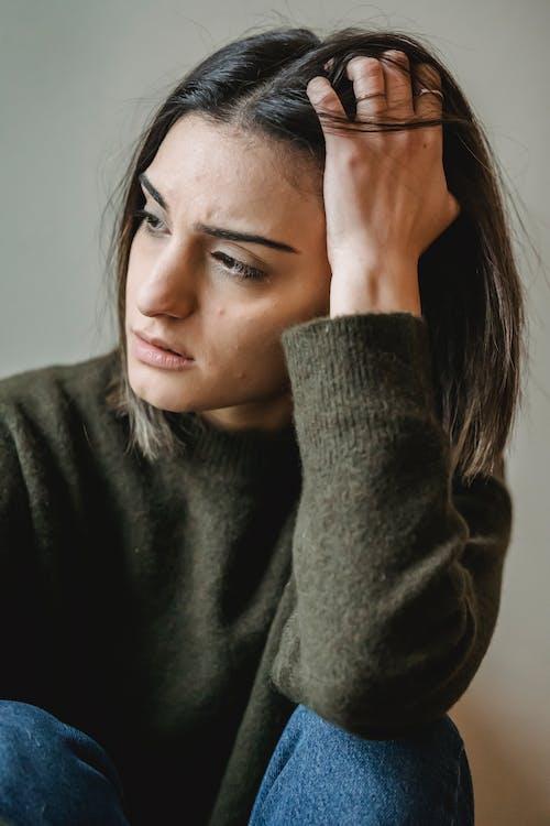 不快樂, 不滿意, 人臉 的 免費圖庫相片