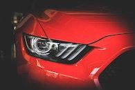 Red Car Head Light