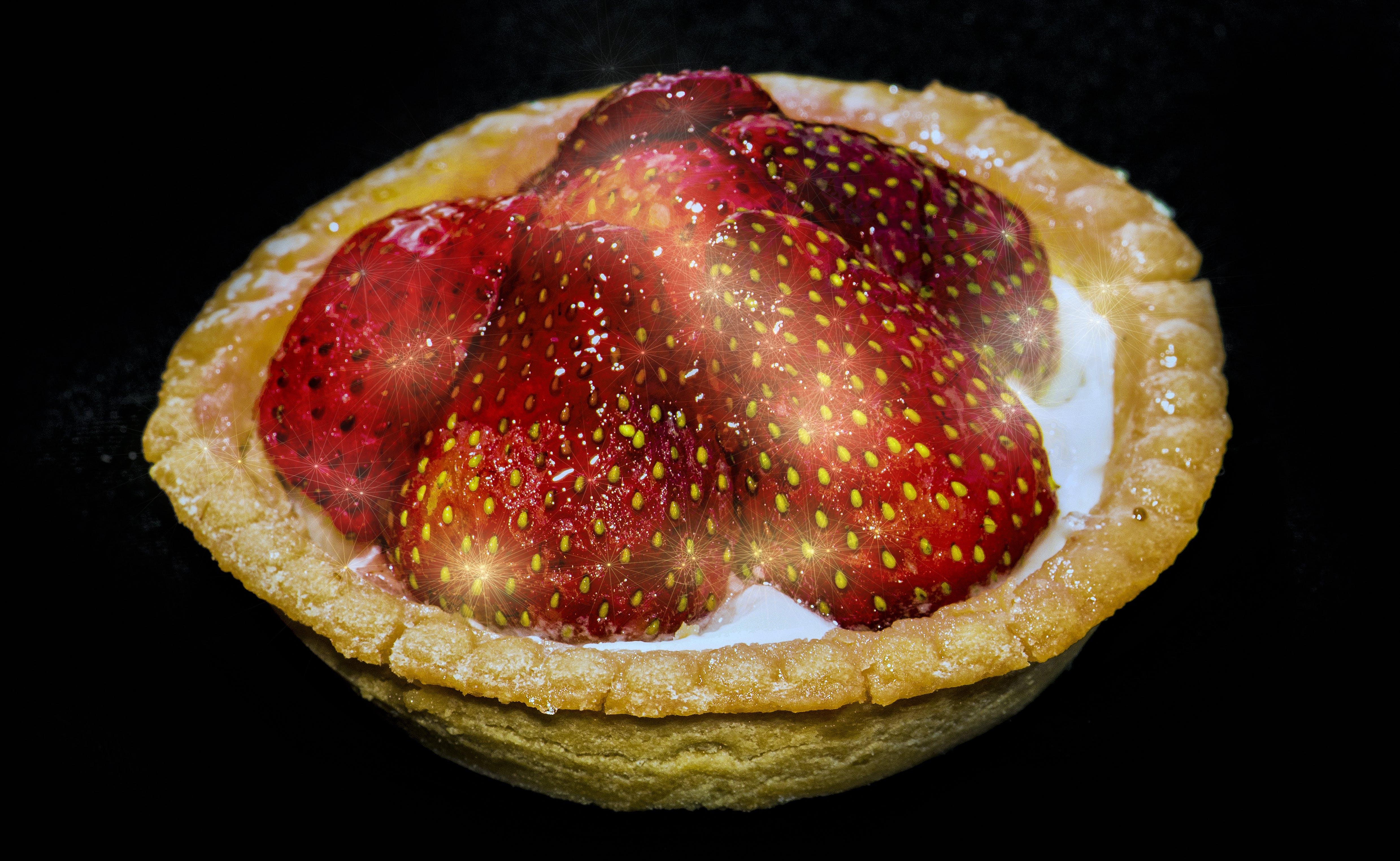 Free stock photo of desert, deserts, pastries, strawberries