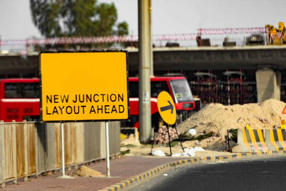 business proposals on road traffic signs construction
