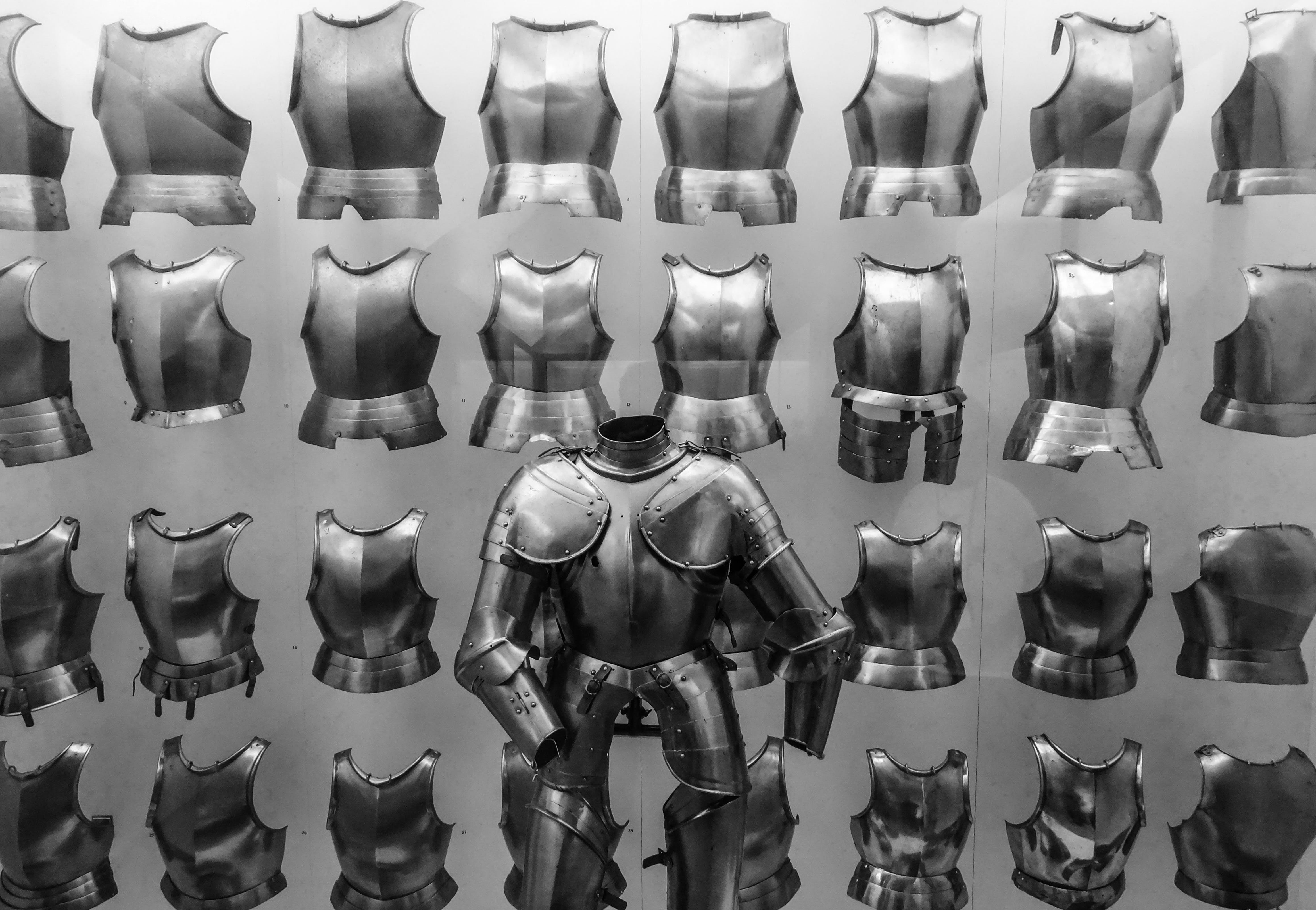 Stainless Steel Armor