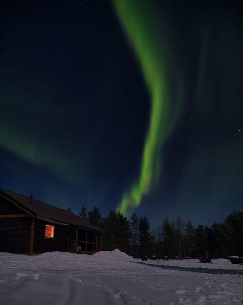 The Northern Lights in the Sky