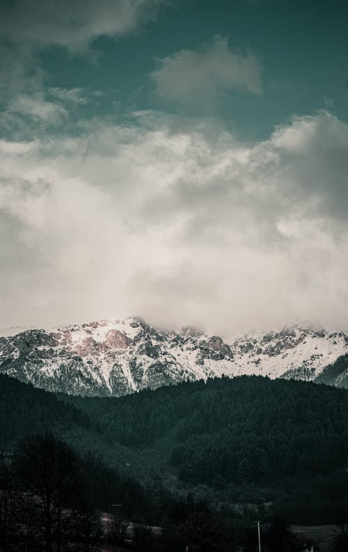 Foto d'estoc gratuïta de cobert de neu, ennuvolat, fotografia de natura