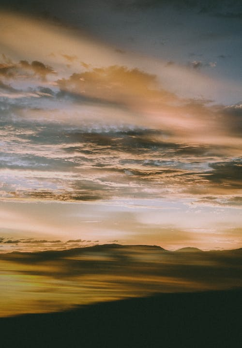 Free stock photo of beach, cloud, dawn, dramatic