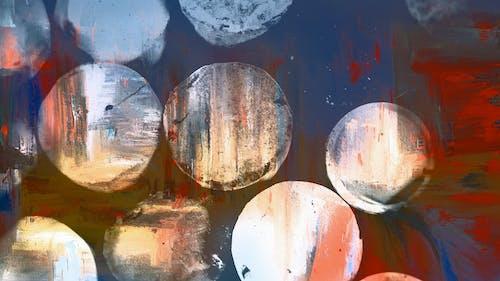 Ingyenes stockfotó absztrakt, falfirka, fényes, gömb alakú témában