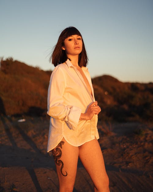 Free stock photo of adult, beach, fashion, girl