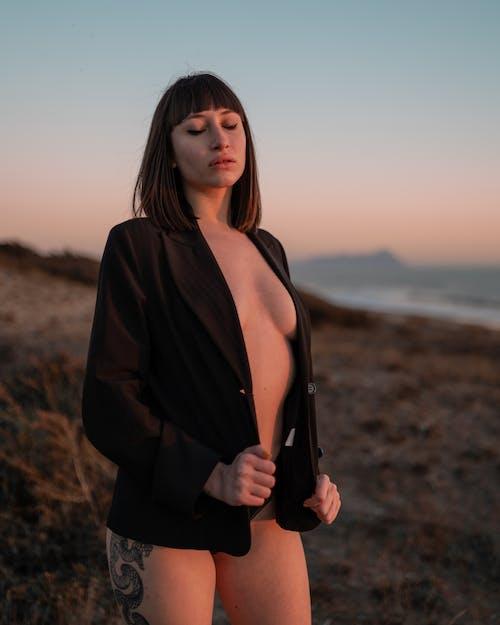 Free stock photo of beach, fashion, girl, glamour
