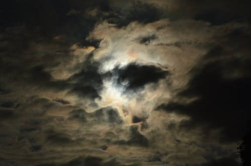 Free stock photo of cloud, darkness, evening sun